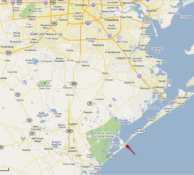 Driving Directions To San Luis Pass Brazoria County Tx