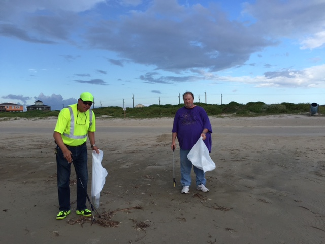 Beach Clean Up 2017.4