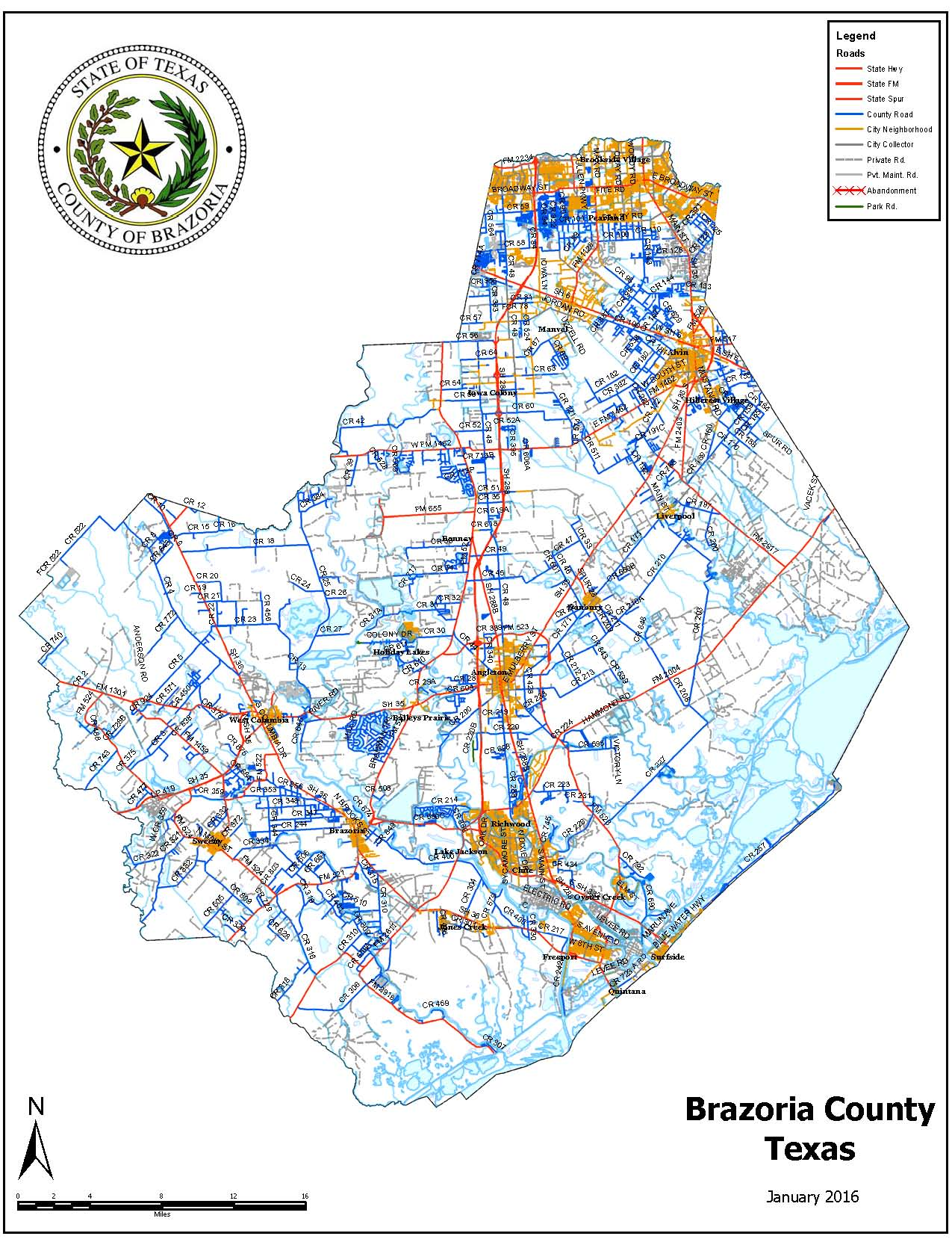 Show A Map Of Texas.County Map Brazoria County Tx