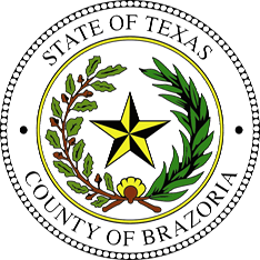 Brazoria County Texas Seal - 2016 Color