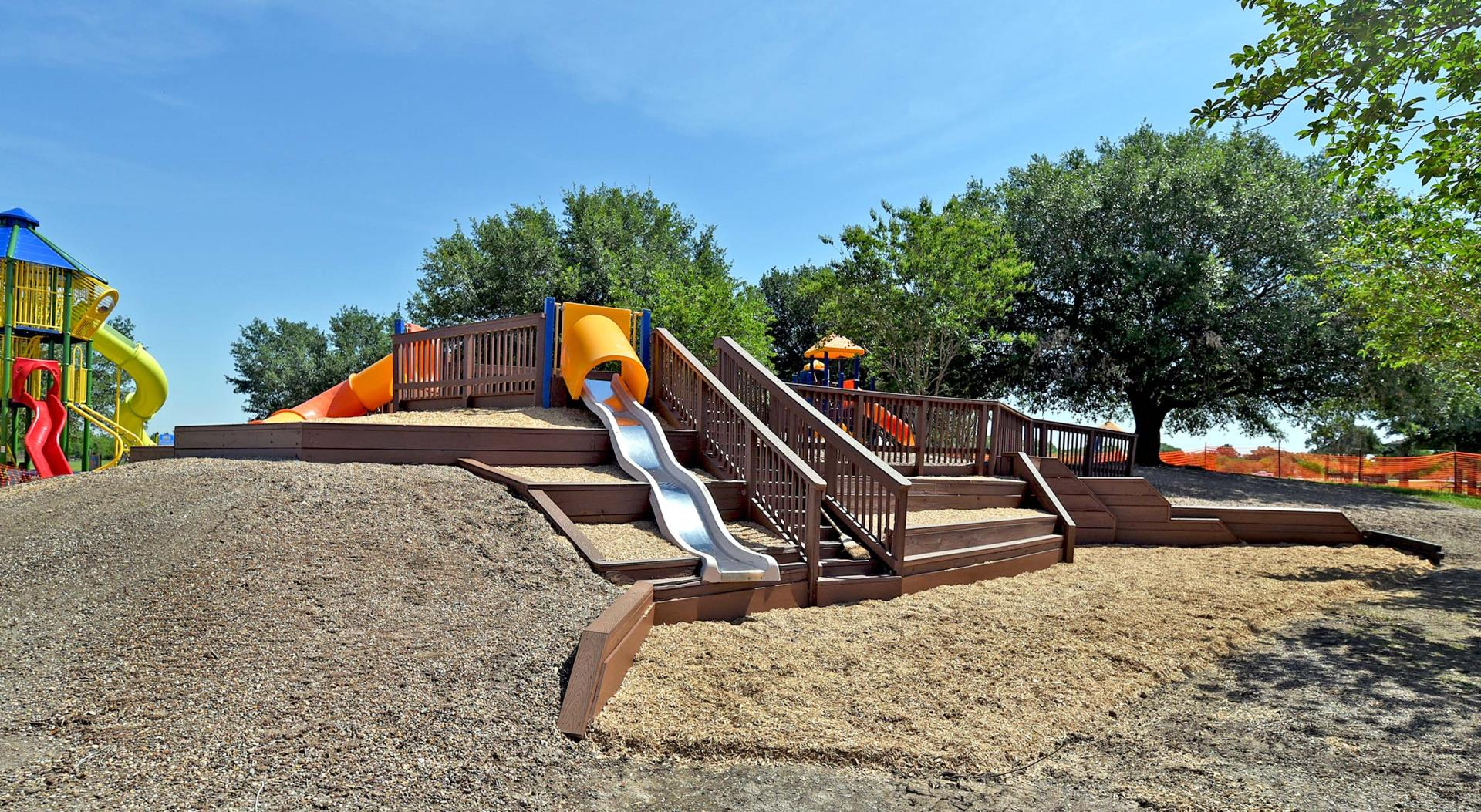 Resoft renovated playground view May 2018
