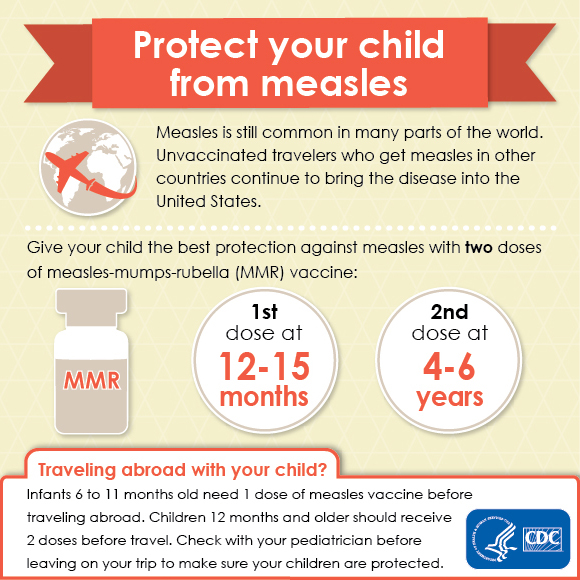 Protect your child from measles