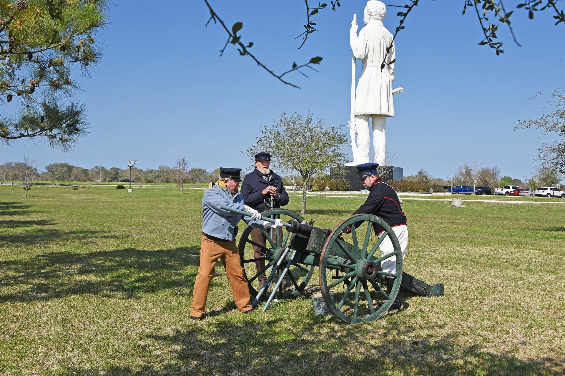 cannon crew at Tx Independence Day