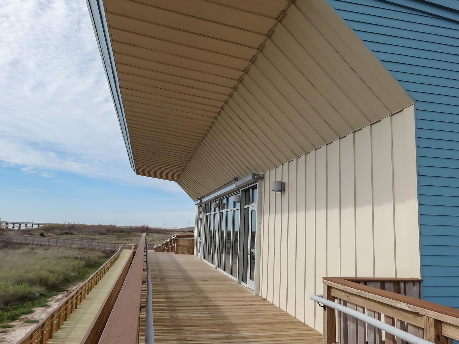 Quintana Beach Park Discovery Event Center Brazoria